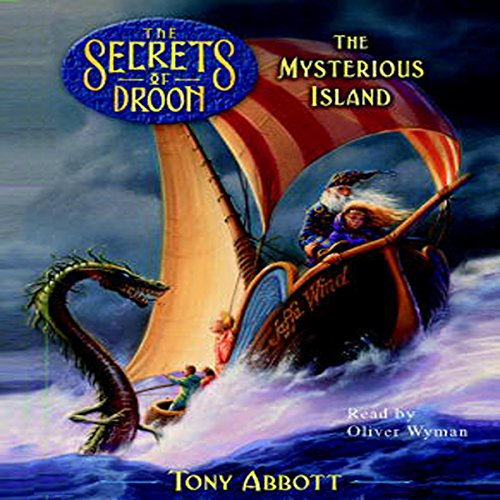 The Mysterious Island audiobook cover art