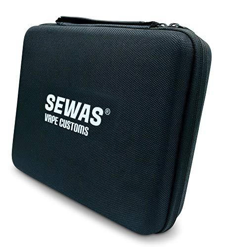SEWAS Vape Customs Tasche Hardcase für Vaporizer Mighty und diverses Zubehör, Reiseetui und Schutz Tragetasche für Verdampfer