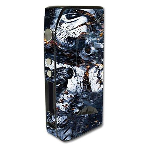 Skin Decal Vinyl Wrap for Pioneer 4 you iPV5 200w Vape Mod Box / Crazy Storm Guy