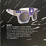 Star Wars R2-D2 3D Glasses - RealD -The Last Jedi - Loot Crate DX - Limited Edition