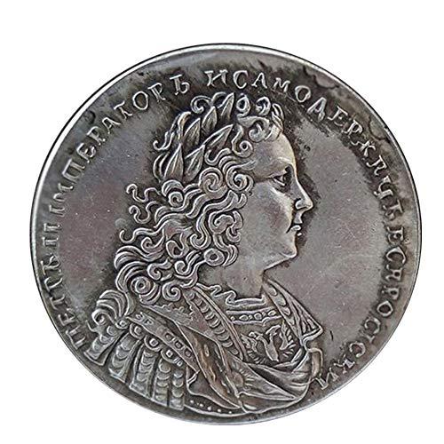 Xinmeitezhubao Antike Münze 1737 alte Silbermünze Russische Gedenkmünze Sammlung