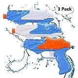 Sotodik 3PCS Water Guns Super Soaker Gun Large Capacity Summer Beach Toys Water Pistol for Kids Best Swimming Beach...