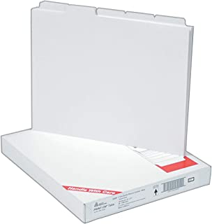Avery Copier Tab Binder Dividers, 5 White Tabs, Unpunched, 30 Sets (20405)
