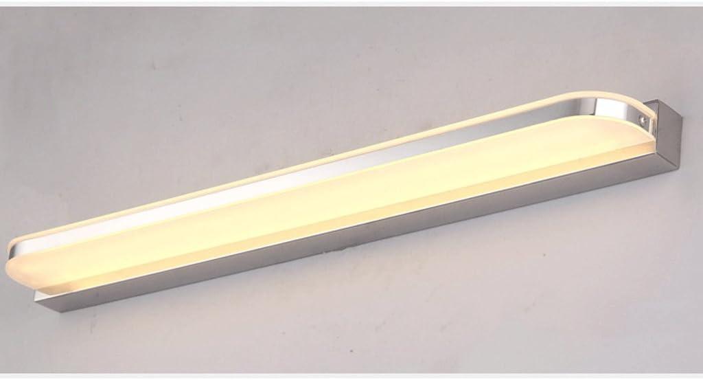 Spiegel-Lampen-Wand führte Badezimmer-Badezimmer wasserdicht und Nebel-einfache moderne Spiegel-Kabinett-Lichter ( größe : Warm light-- 50cm ) Warm Light-- 50cm