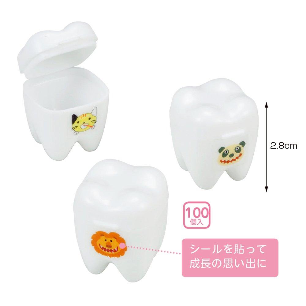 劣るサイクロプス寛解乳歯保存ケース 抜けた乳歯のメモリーケース(100個入)