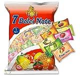 Caramelle 7 Dolci Note Ripiene alla frutta Finazzi kg 1 - Caramelle Ripiene al gusto Frutta - Busta 1000gr Made in Italy