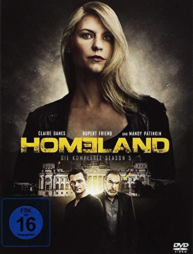 Homeland - Die komplette Season 5 [4 DVDs]