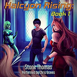 Halcyon Rising: Breaking Ground, Book 1                   By:                                                                                                                                 Stone Thomas                               Narrated by:                                                                                                                                 Chris Graves                      Length: 5 hrs and 20 mins     11 ratings     Overall 4.3