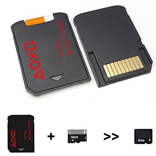 CALISTOUK Vita Versión 3.0 para PSVita Game Card a Micro SD Adaptador para PS Vita 1000 2000