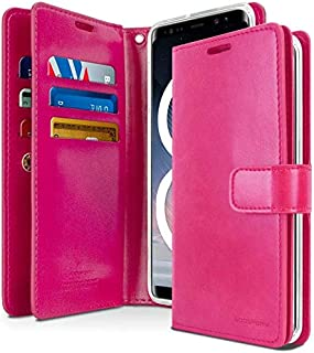 Samsung Galaxy Note 8 Leather Protection Wallet with Multi Pockets Case