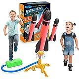 LetsGO toyz Juguetes Niños 3-12 Años, Juegos Exterior Niños Juegos Niños 3-12 Años Juegos al Aire Libre para Niños Regalos Niña 3-12 Años Cohete Juguete Regalos Cumpleaños Niños Colegio Regalos