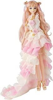 Prettyia 1/6 Scale Flexible 14 Joints Movable Japanese Anime Girl Doll Model Flower Pattern Lolita Dress