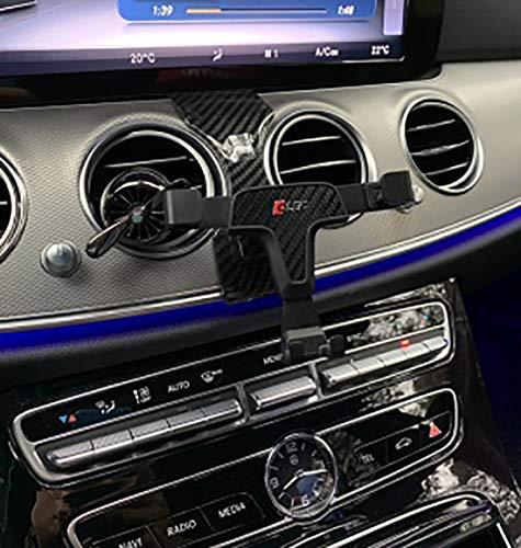 Soporte de coche para teléfono móvil de la marca OYEFLY para clase E W213 BJ 2016-2019, con rejilla de ventilación, para smartphone, GPS y tableta, ajustable 360 grados para una visión óptima