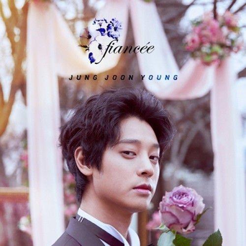 JUNG JOON YOUNG [FIANCEE] Single Album 2 Ver Set+8p Post Photo Card+2p Wedding Invitation+2p Lyrics+Tracking Number SEALED