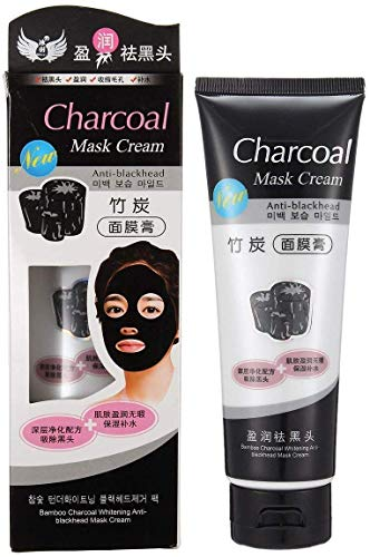 BELLA HARARO Charcoal Mask Peel Off Face Mask Cream Blackhead Remover for All Skin Types-(men and women) (PACK OF 1)