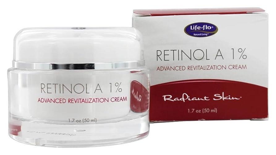 カレッジ国籍リスキーな海外直送品 Life-Flo Retinol A 1% Advanced Revitalization Cream, 1.7 oz