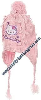 Bonnet p/éruvien b/éb/é fille Hello kitty Rose et /écru de 9 /à 18 mois 50 18-36 mois , Gris