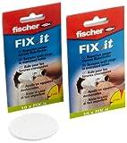 Fischer FIX-IT - Masilla para arreglar agujeros desbocados (2 paquetes)