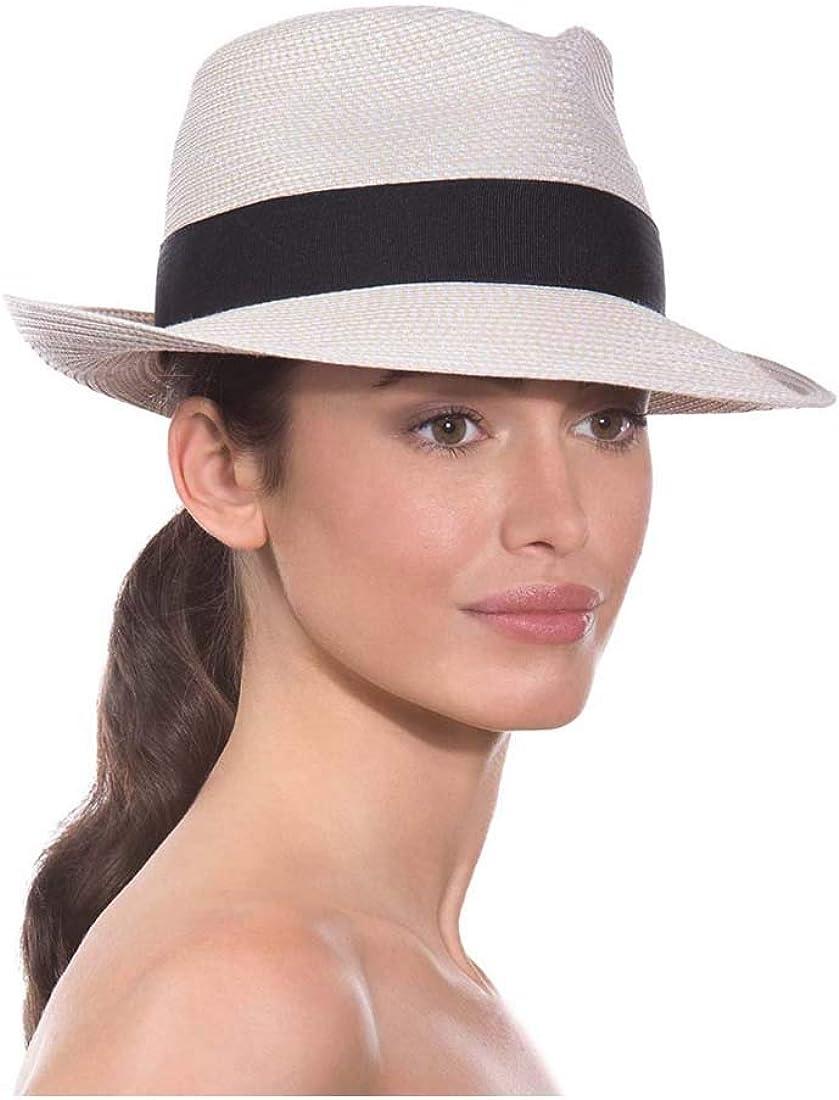 Eric Javits Women's Squishee Classic-Cream/Black, One Size