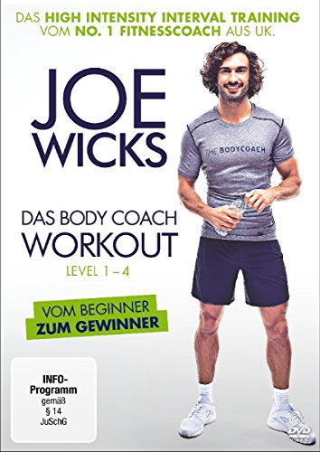 Joe Wicks - Das Body Coach Workout, Level 1-4