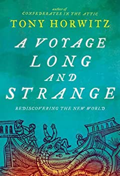 A Voyage Long and Strange: Rediscovering the New World book cover