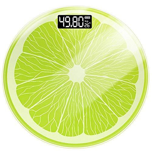 APPLL Körperfett-Personenwaage Mit Gehärtetem Glas - Hohe Genauigkeit Speicher Spur-Digital-Skala - Messen Gewicht, Körperfett, Trink, Muskel, Und Täglichen Bedarf Von Kalorien