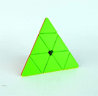 High quality Pyramid Cube 3x3, Pyraminx Stickerless 3x3x3, Triangle Toy Puzzle for Kids & Adults