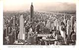 Looking South from Observation Roof of RCA Building New York City, New York postcard