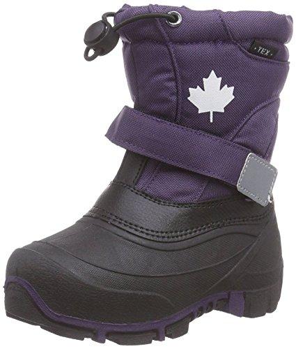 Canadians 467 185 Winter Schnee Stiefel Boots Fleece Futter Unisex in 6 Farben (30, lila)