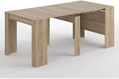 Table Console Extensible Cdiscount.Home Innovation Table Console Extensible Rectangulaire