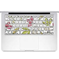 igsticker MacBook Air 13inch 2010 ~ 2017 専用 キーボード用スキンシール キートップ ステッカー A1466 A1369 Apple マックブック エア ノートパソコン アクセサリー 保護 050356