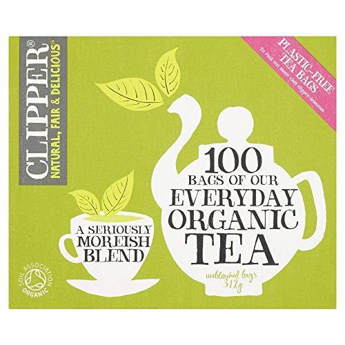 Clipper Organic Everyday 100 Teebeutel (6er Pack, insgesamt 600 Teebeutel)