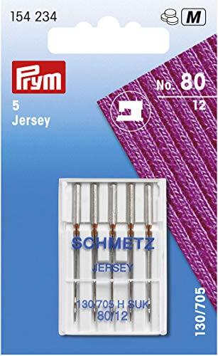 Prym Maquina de coser Jersey 130/705 H-SUK 80, Plateado, Talla única, 10