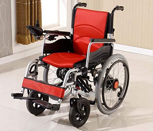 GJX Zelfstandige Rolstoel, Stalen Inklapbare Universele Controle Elektrische Rolstoel, Met Seat-proof Anti-draaien Kleine Wiel Scooter