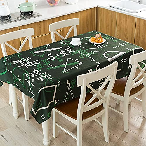 XXDD Rayas geométricas Flecha Cuadros Patrón de verificación Mesa Impermeable Hogar Cocina Hotel Escritorio Mantel Decorativo A10 140x140cm