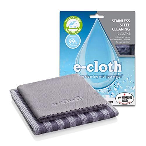 E-Cloth Edelstahl-Reinigungspaket - 2 Tücher, Pack of 1