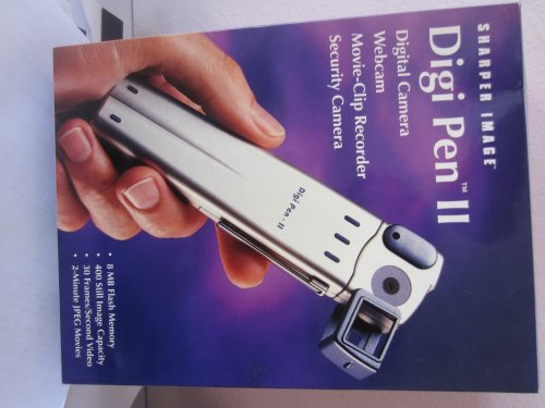 Sharper Image Digi Pen II PT500, Camera,Webcam, Recorder