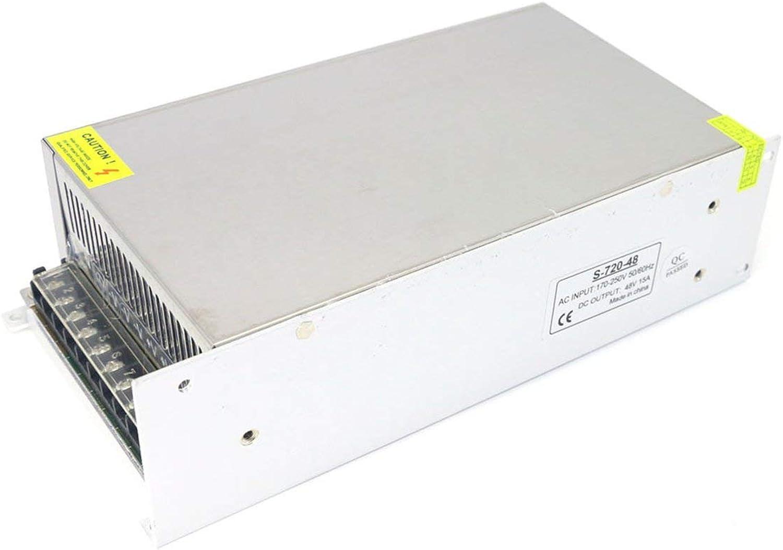descuento de ventas Corneliaa Fuente de alimentación de 220V AC a a a DC LED Conchas metálicas DC 48V 15A 720W Fuente de alimentación de Modo conmutado  el mas reciente