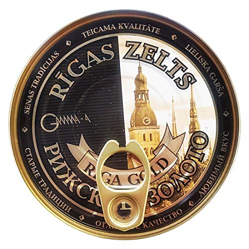 Smoked Sprats Pate 'Riga Gold' (8.5 Ounce / 240 Gram) Imported from Latvia