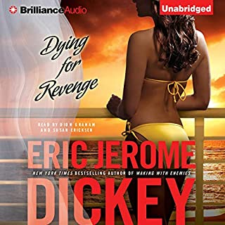 Dying for Revenge     Gideon Trilogy, Book 3              Written by:                                                                                                                                 Eric Jerome Dickey                               Narrated by:                                                                                                                                 Dion Graham,                                                                                        Susan Ericksen                      Length: 15 hrs and 29 mins     Not rated yet     Overall 0.0