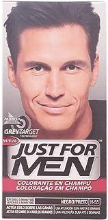 Just For Men Tinte Colorante en champu para el cabello del hombre. Elimina las canas y rejuvenece el cabello en 5 minutos...