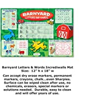 Barnyard Letters & Words ( Write & Wipeアクティビティマット)
