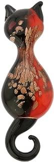 GlassOfVenice Murano Glass Cat Pendant