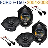 Compatible with Ford F-150 2004-2008 Factory Speaker Replacement Harmony (2) R68...