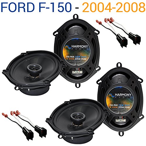 Compatible with Ford F-150 2004-2008 Factory Speaker Replacement Harmony (2) R68 Package New