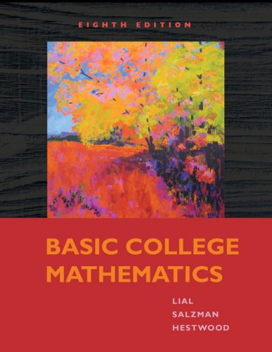 Basic College Mathematics (8th Edition)