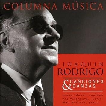 Joaquin Rodrigo: Canciones & Danzas