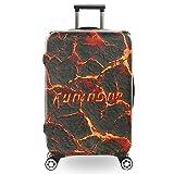 Coperture bagaglio protettore copertina Custodia protettiva for valigie da viaggio con polsino lavabile for la pulizia della copertina 3D for 18-32 pollici for ragazze e ragazzi Protezione bagagli Val