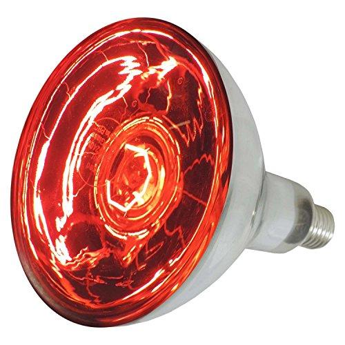 Eider Landgeräte GmbH EIDER Infrarotlampe 150 - und 250 Watt auswählbar - Wärmelampe E27 - Top Qualität (150 Watt)