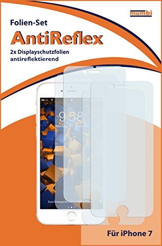 mumbi Schutzfolie kompatibel mit iPhone SE 2 2020 Folie, iPhone 7 Folie, iPhone 8 Folie matt, Displayschutzfolie (4X)